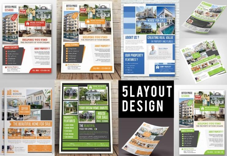 Real Estate Sales Flyer Template