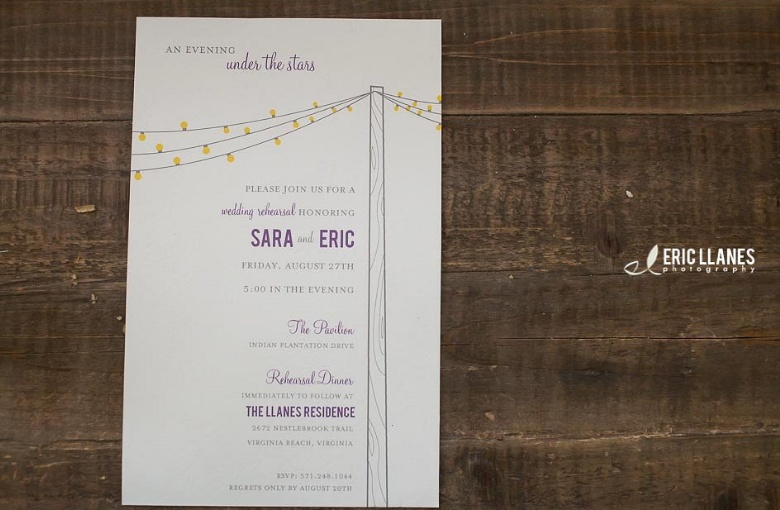 Rehaersal Dinner Invitation Template