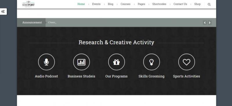 Responsive Education WordPress Theme