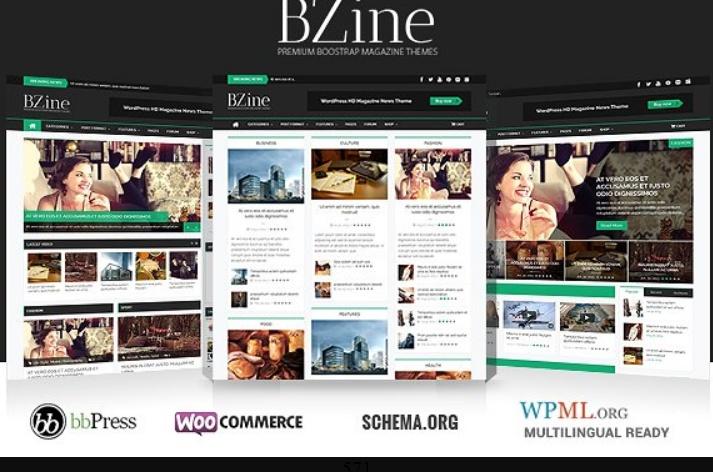 Retina Ready WordPress Newspaper Theme