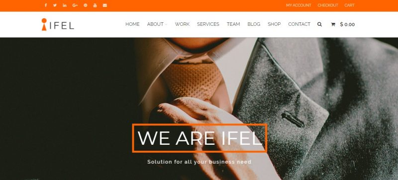 SEO Friendly Design WordPress Theme