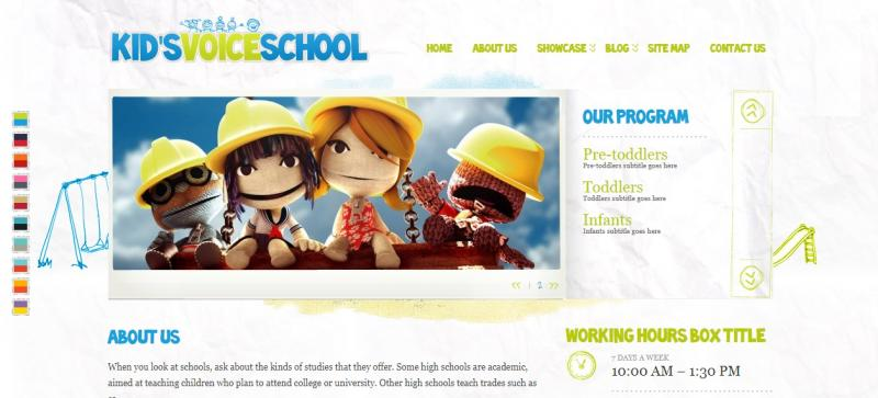 SEO School WordPress Theme
