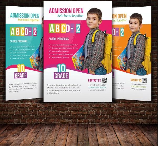 School Promotional Flyer