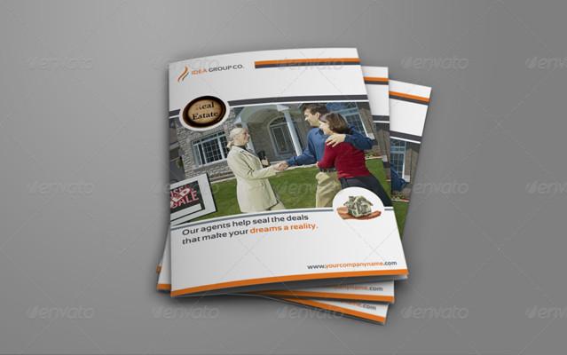 Services Bi Fold Brochure Template