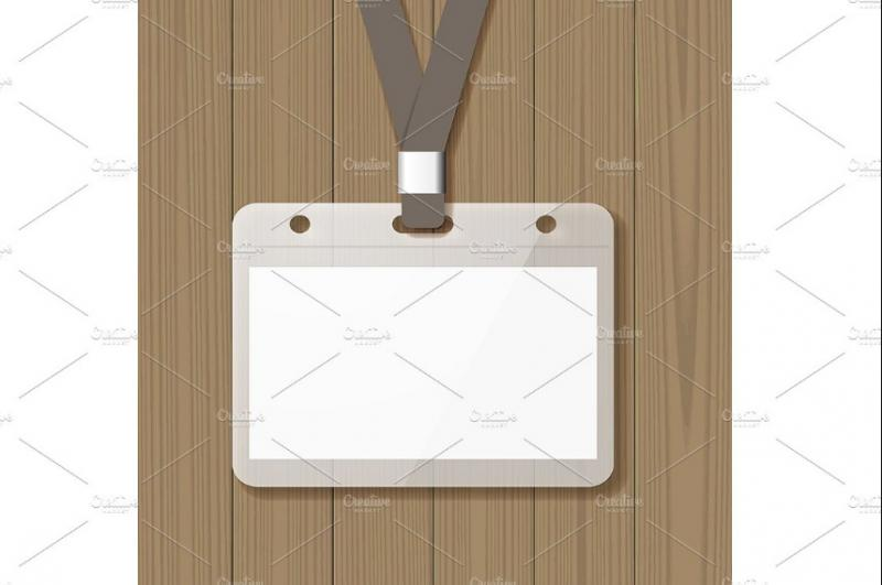 Simple ID Card Template