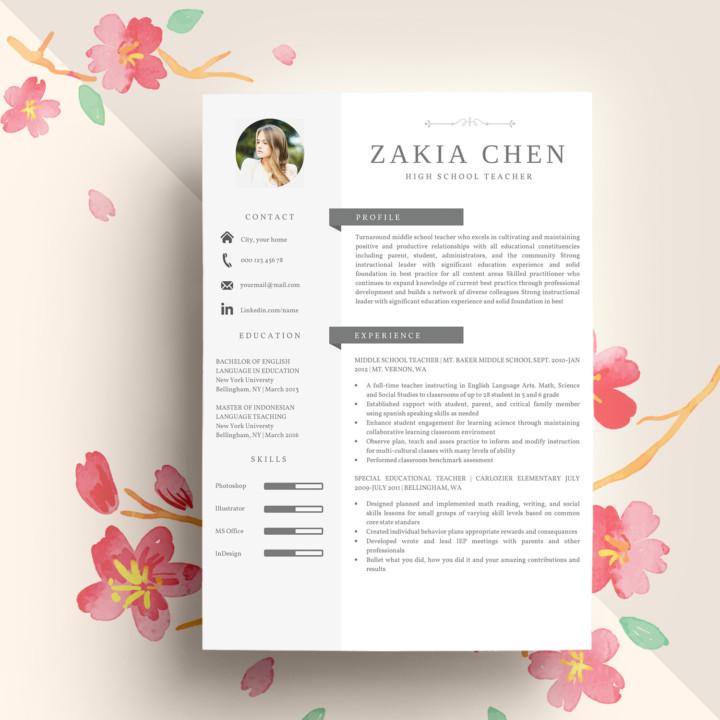 Simple Professional Resume Template