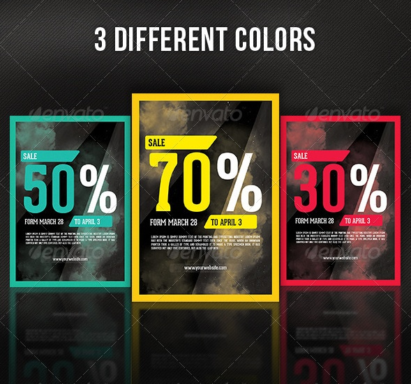 Special Offer Sales Flyer Template