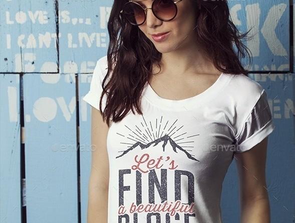 T-Shirt Mockup PSD
