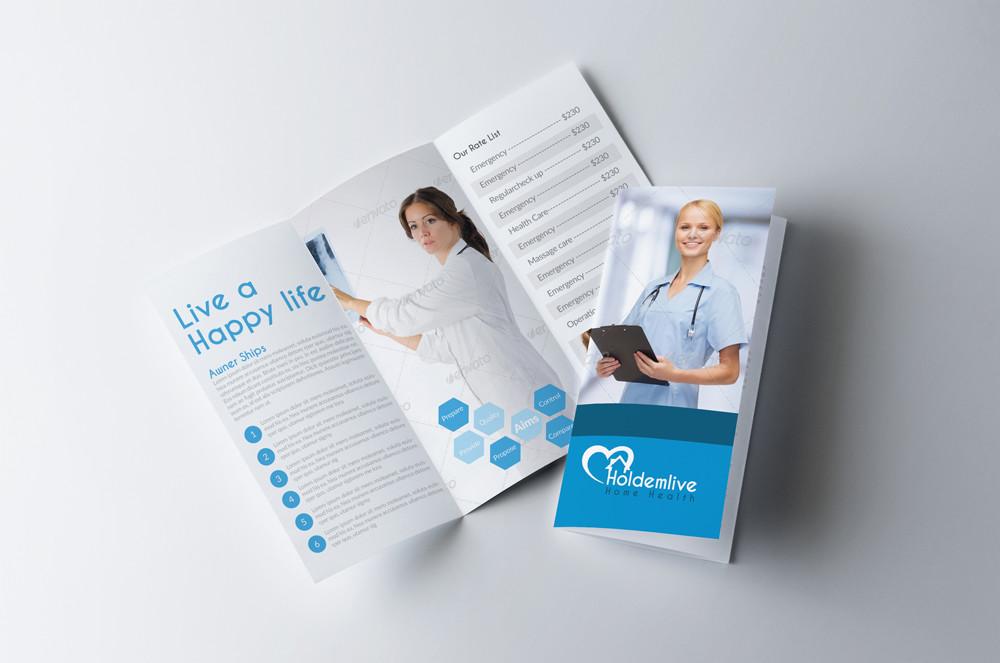 Medical Tri Fold Brochure |Medical Tri Fold Brochure Template