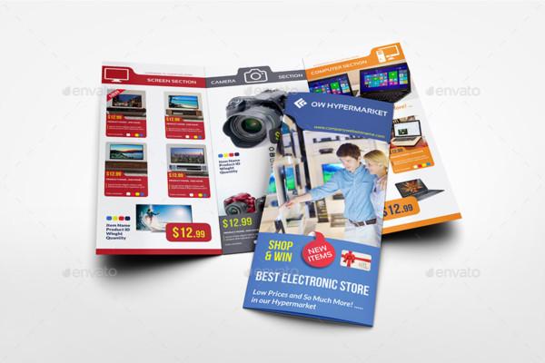 Tri Fold Product Brochure Template