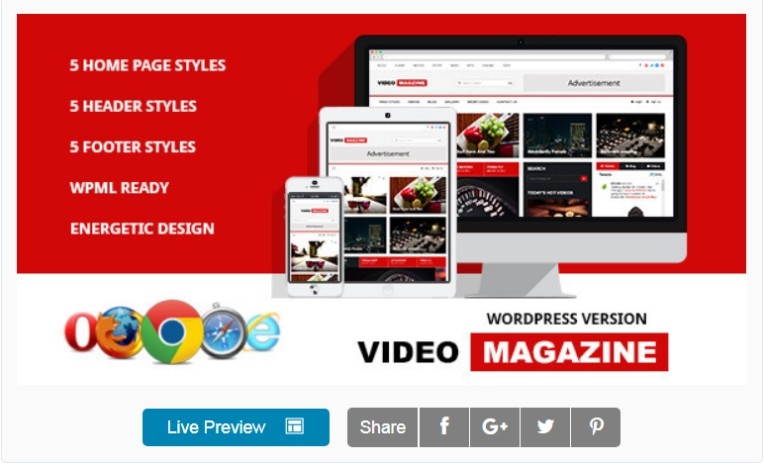 WPML WordPress Theme