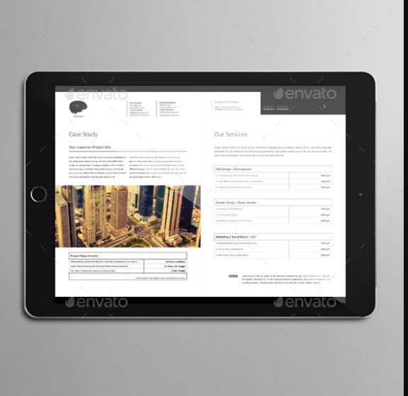 Web Design E Proposal Template