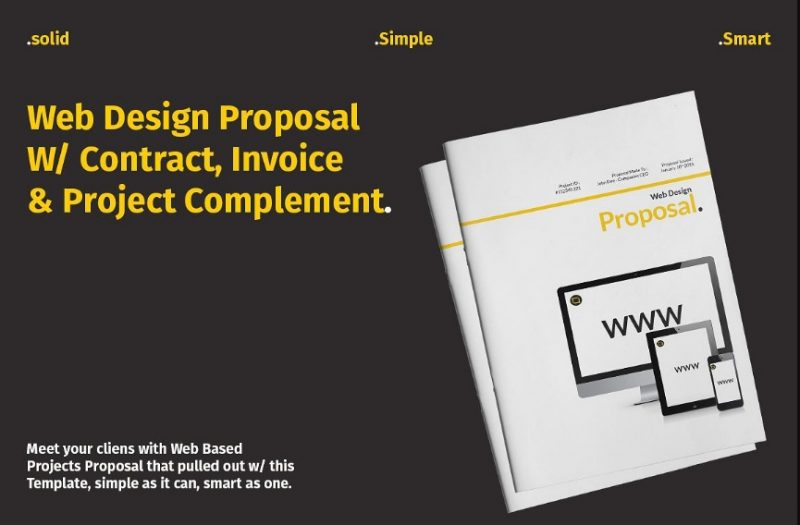 Web Design Project Proposal Template