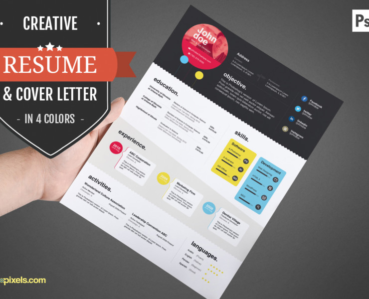 Web Developer Resume and Cover Letter Template