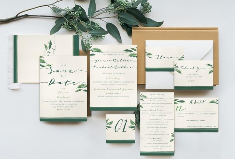 Wedding Invitation Pack Template