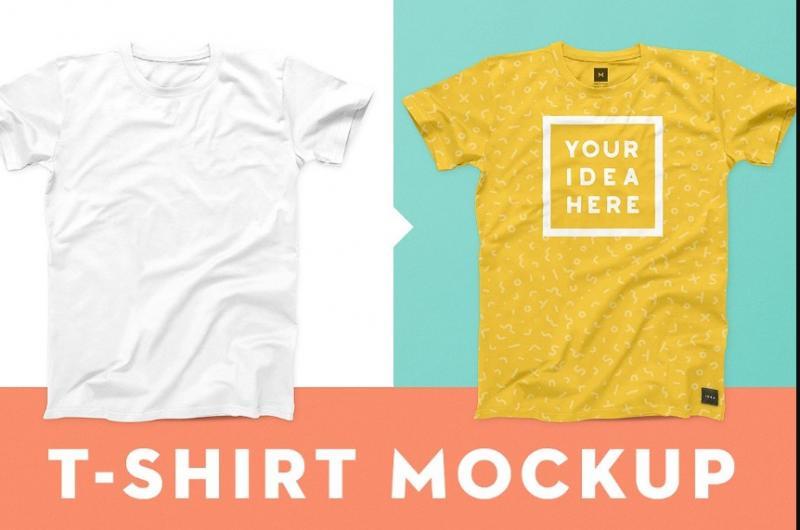 Well Layered T Shirt Mockup