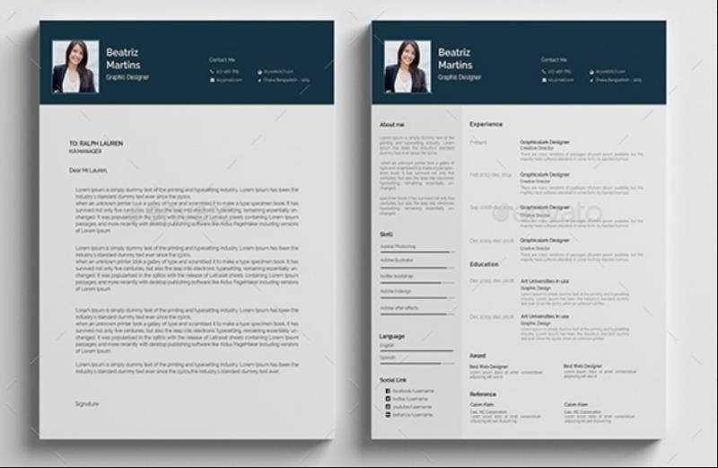 Well Organised Resume Template