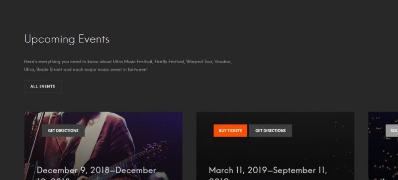 WordPress Online Music Theme