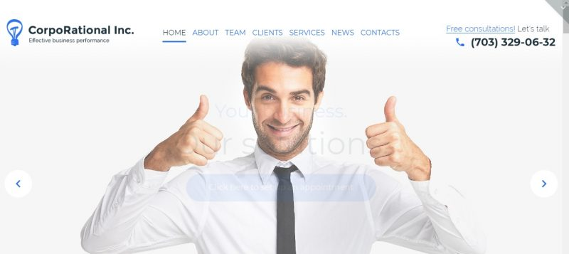 WordPress Theme for Corporate