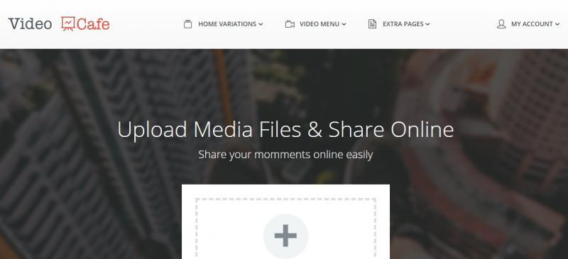 WordPress Video Sharing Theme