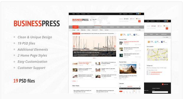 magazine template contract template press release template news website template business template