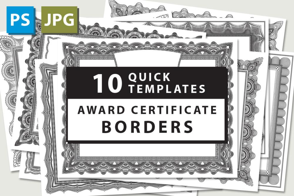 10 Award Certificate Template