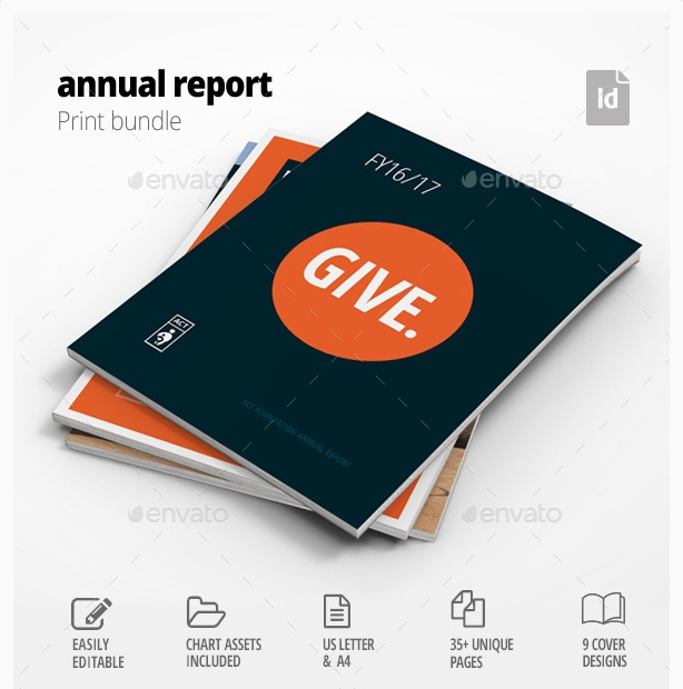 corporate annual report template business templates for report