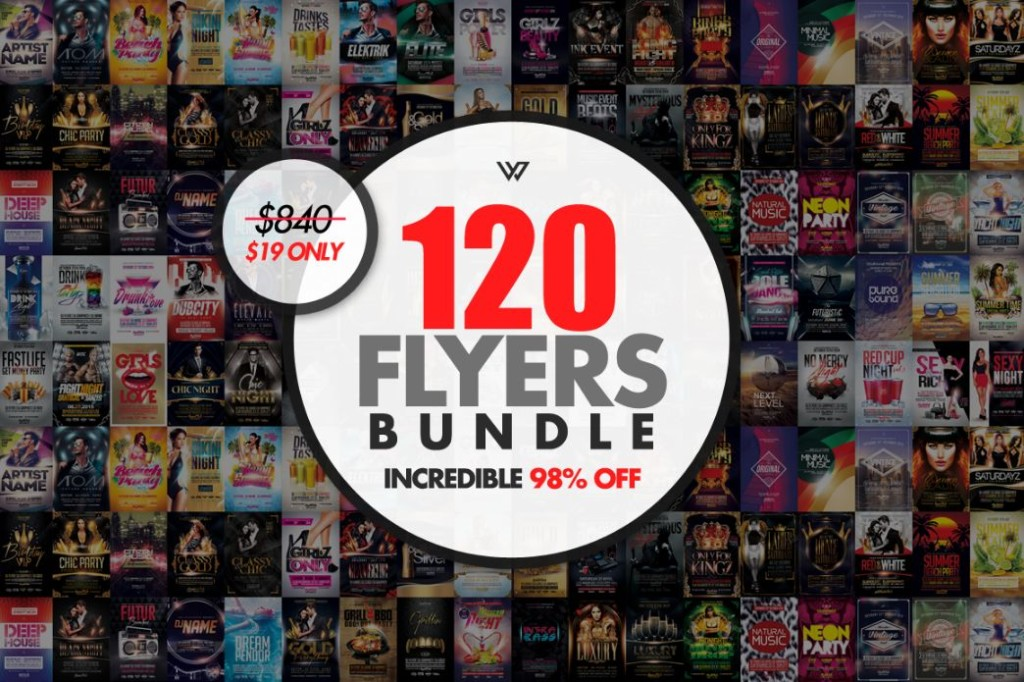 120 Best Flyer Template Bundle