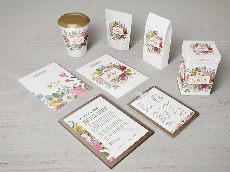 Coffee-Identity-Branding-Mockups creative beautiful cafe mug bag mockup