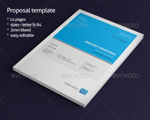 14 pages Budget Proposal Template
