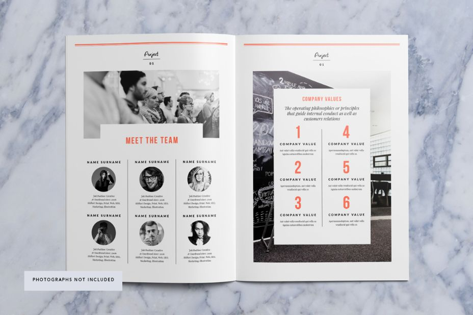 16 Pages Photography Proposal Template