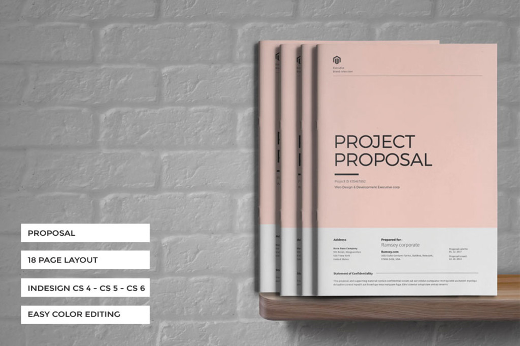 18 Pages PR Proposal Template