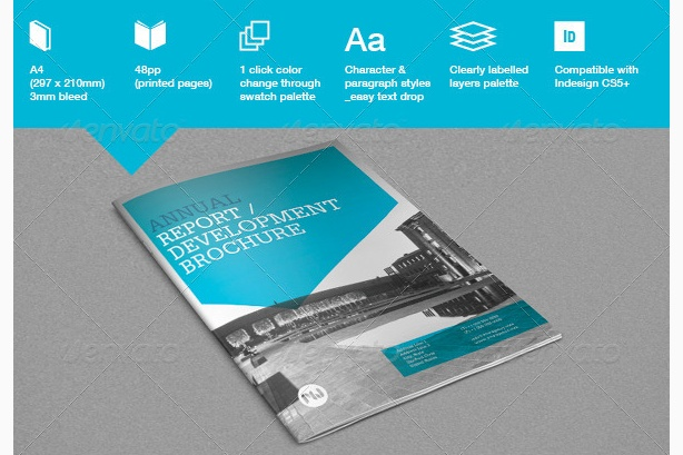 report template word project template annual templates