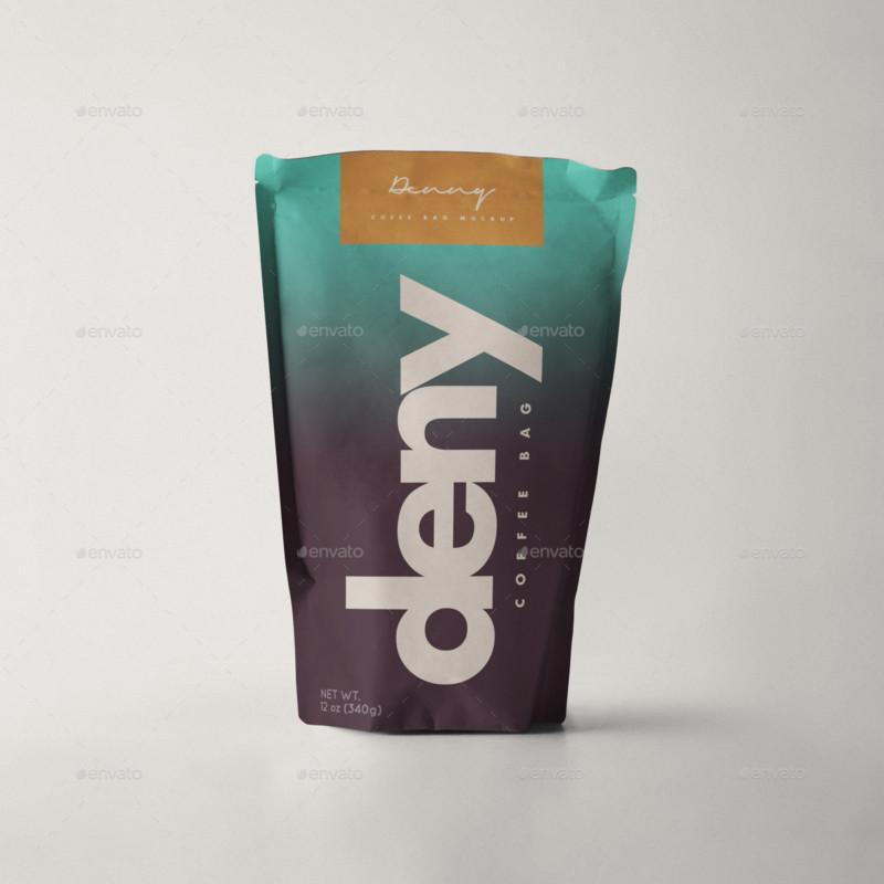 Coffee Stationery Mockup creative coffee bag and cup mockup psd template