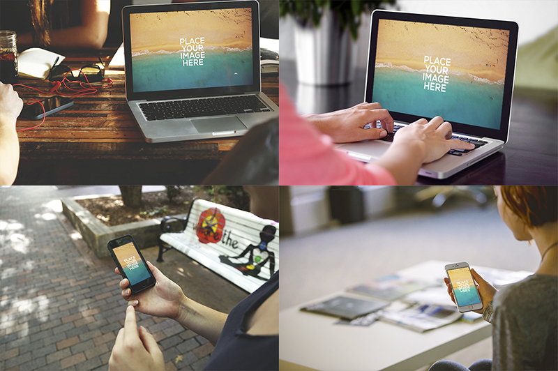 responsive psd to bootstrap grid mockup outdoor simple
