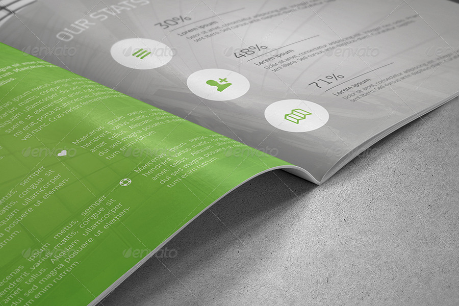 annual report template report templates for business project