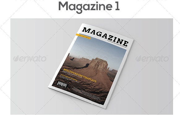 A4 Magazine Template Word Format