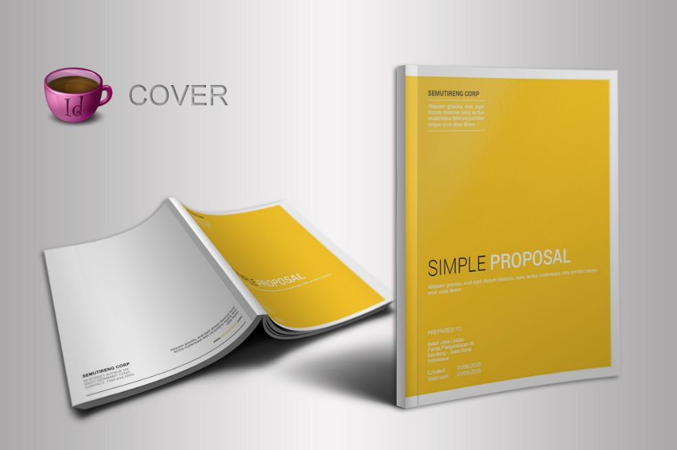 A4 Photography Proposal Template
