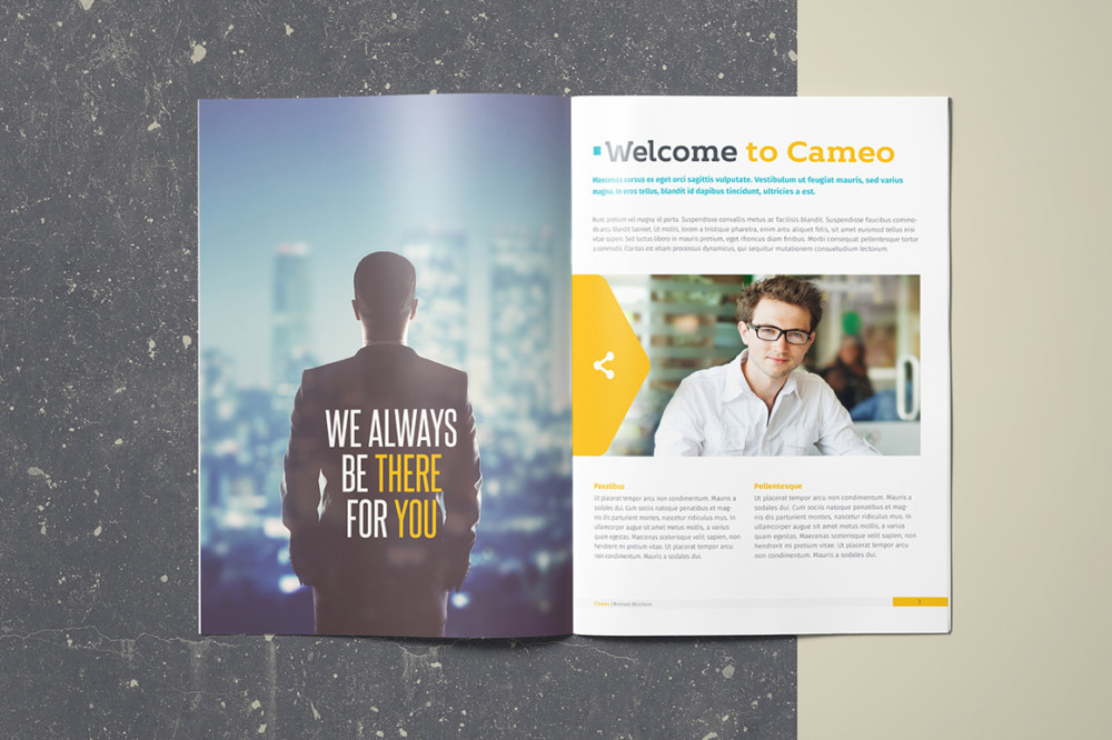 A4 Public Relations proposal Template