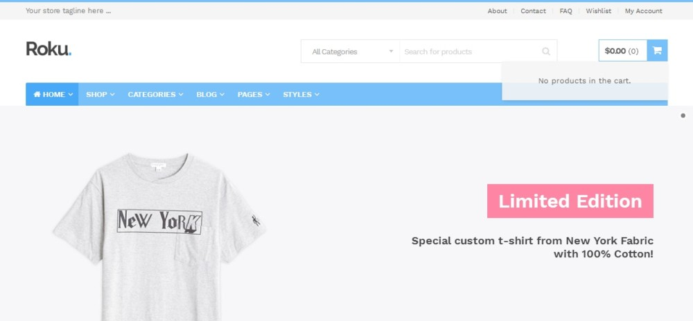 Apparel eCommerce WordPress Theme