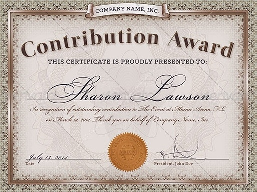 Doc550425 Awards Certificates Templates for Word blank award – Award Word Template