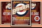20+ Barber Shop Flyer Template PSD, InDesign and Ai Format