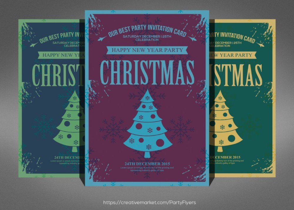 Best Christmas Party Invitation Template (1)