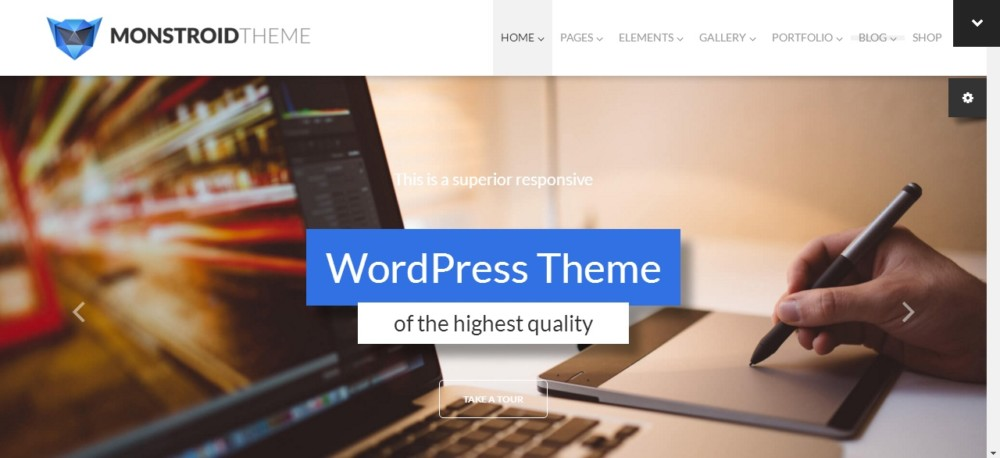 Best Selling One Page WordPress Theme