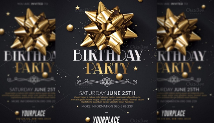 20 Birthday Invitation Template Psd Vector Eps And Ai Format