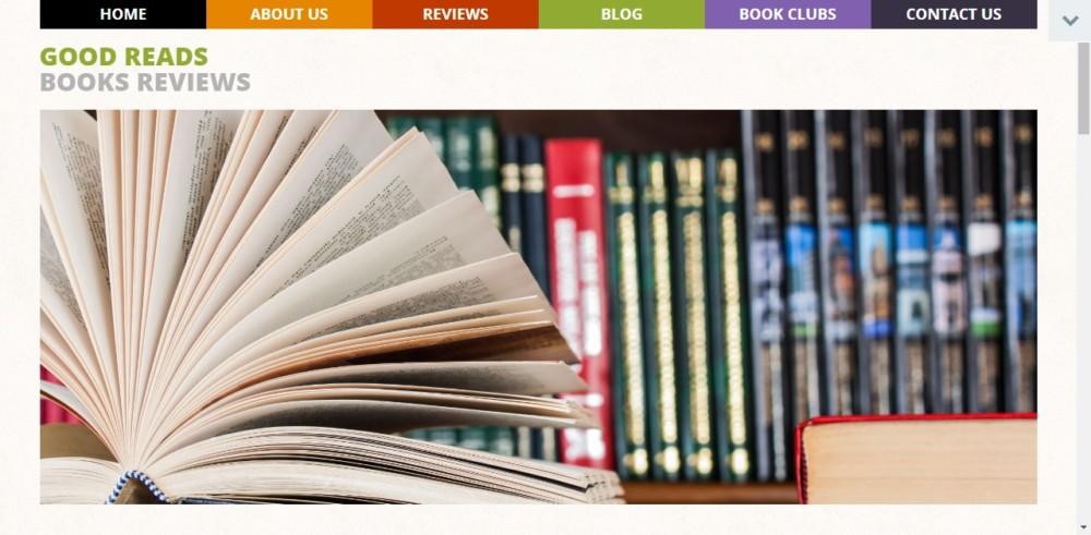 Book Review WordPress Theme