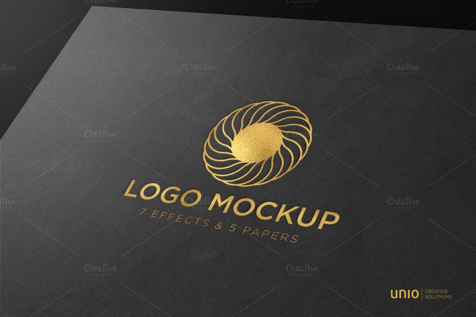 Brand Logo Mockup PSD
