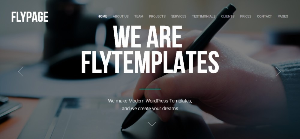 Business Agency Landing Page Theme