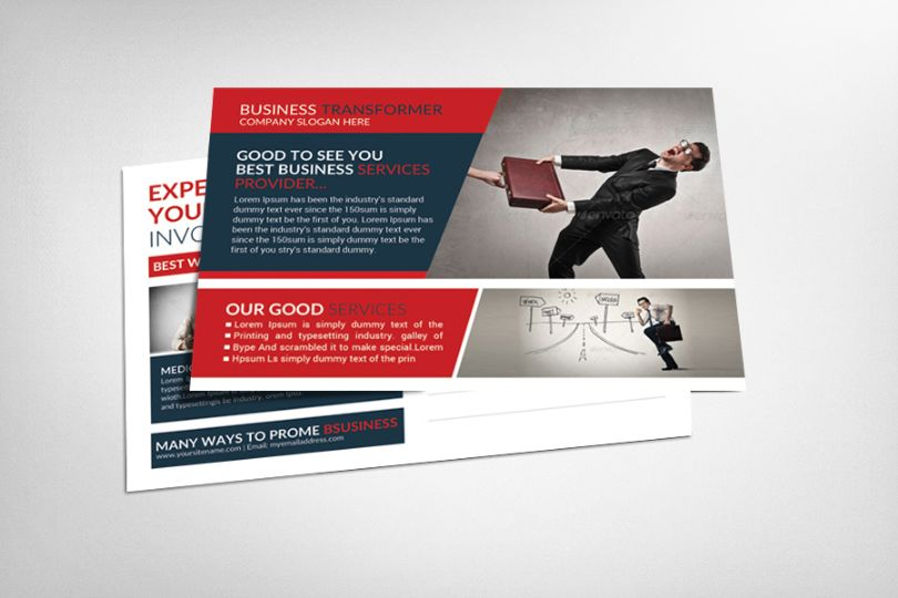 Business Promotional Template PSD