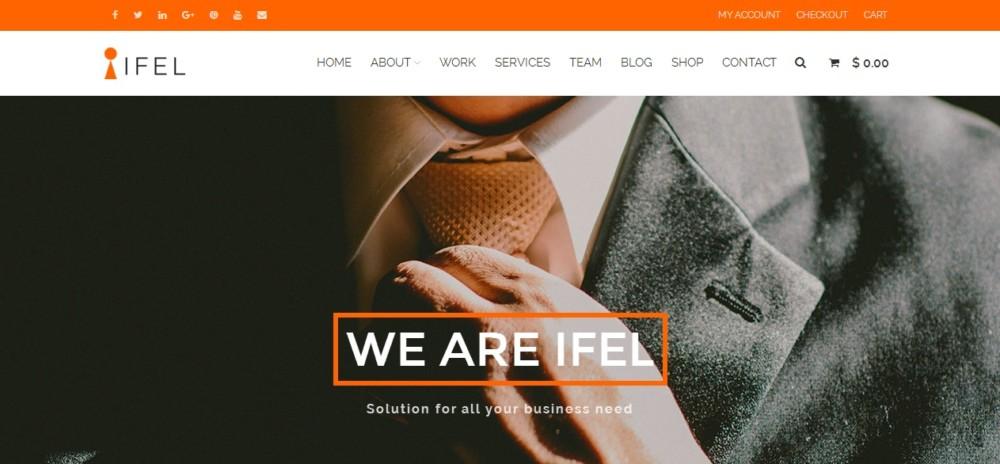 Business WordPress eCommerce Theme